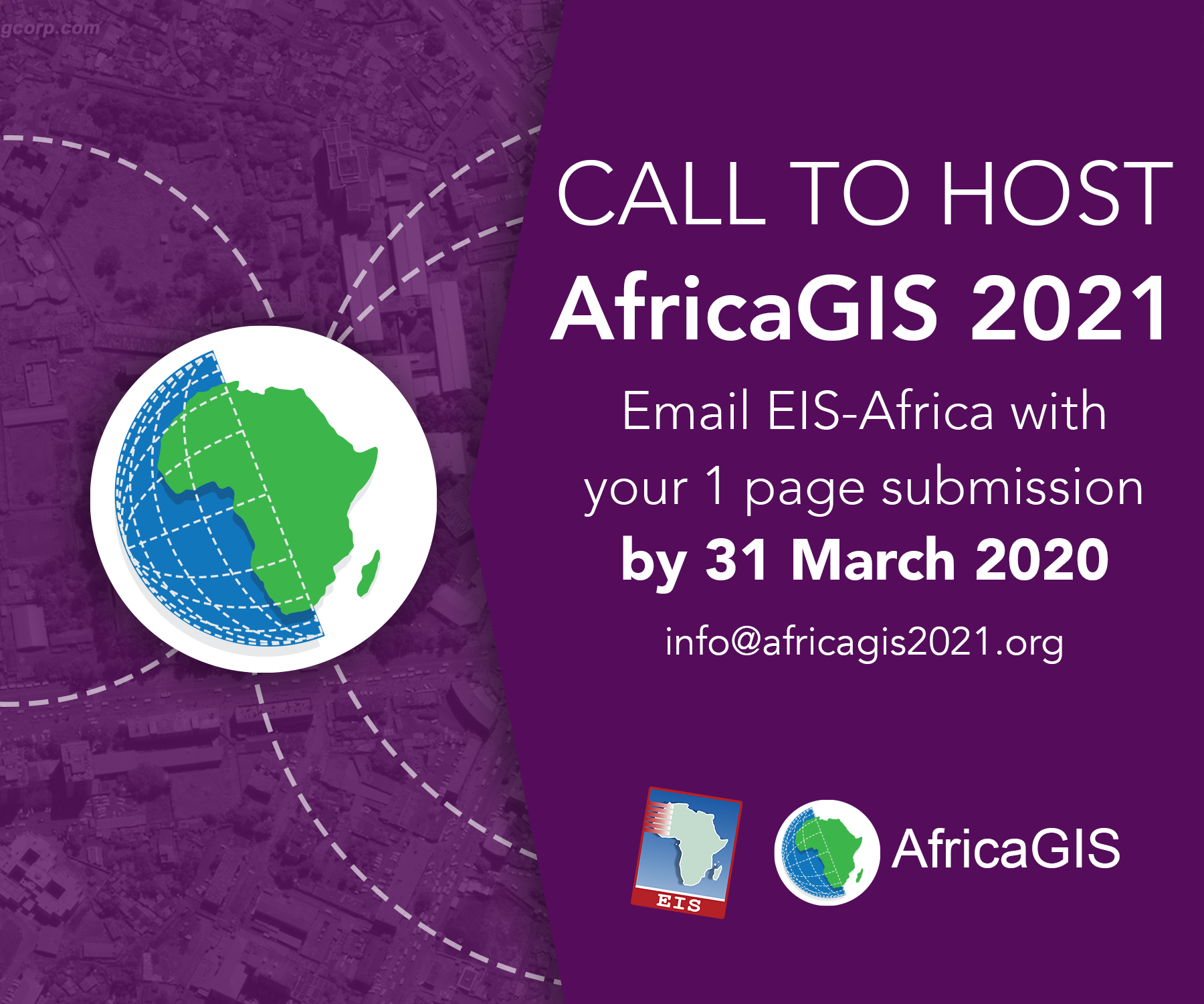 Call to host AfricaGIS 2021