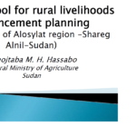 GIS as a tool for rural livelihood enhancement planning