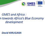GMES and Africa Blue Economy Kirugara