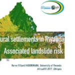 Rural Settlement in Rwanda and Associated Landslide Risk